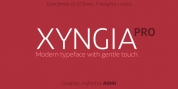 Xyngia font download