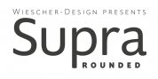 Supra Rounded font download