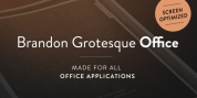 Brandon Grotesque Office font download