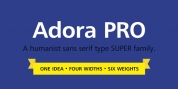 Adora Compressed PRO font download