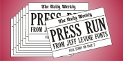 Press Run JNL font download