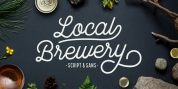 Local Brewery font download