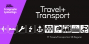 Pi Travel+Transportation font download