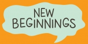 New Beginnings font download