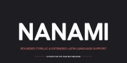 Nanami Rounded Pro font download
