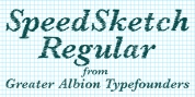 SpeedSketch font download