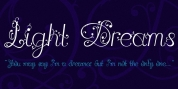 Light Dreams font download