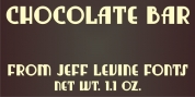 Chocolate Bar JNL font download