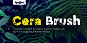 Cera Brush font download