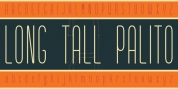 Long Tall Palito font download