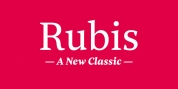 Rubis font download