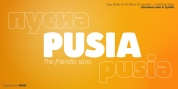 Pusia font download
