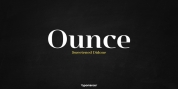 Ounce font download