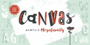 Canvas Acrylic Megafamily font download