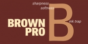 Brown Pro font download