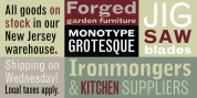 Monotype Grotesque font download