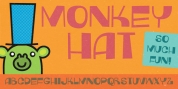 Monkey Hat font download