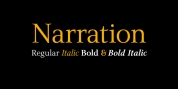 Narration font download