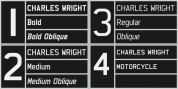 Charles Wright font download