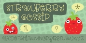 Strawberry Gossip font download