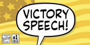 Victory Speech font download