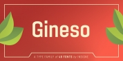 Gineso font download