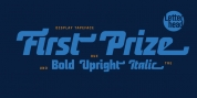 First Prize font download