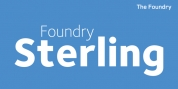 Foundry Sterling font download
