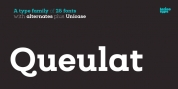 Queulat font download