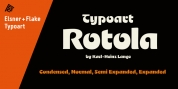 Rotola TH Pro font download
