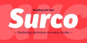 Bw Surco font download
