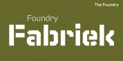 Foundry Fabriek font download