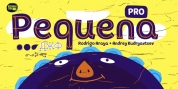 Pequena Pro font download