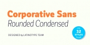 Corporative Sans Round Condensed font download