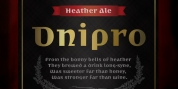 Dnipro font download