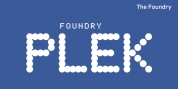 Foundry Plek font download