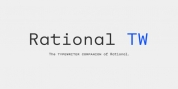 Rational TW font download