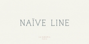 Naive Line font download