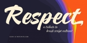 Respect font download