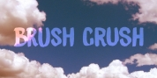 Brush Crush font download
