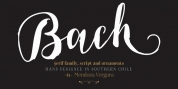 Bach font download