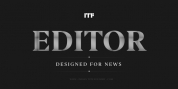 Editor font download