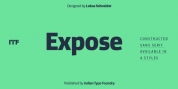 Expose font download