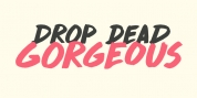Drop Dead Gorgeous font download