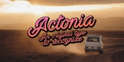 Actonia font download