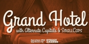 Grand Hotel Pro font download