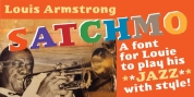 Satchmo font download