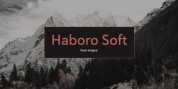 Haboro Soft font download