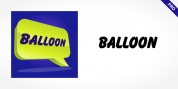 Balloon Pro font download