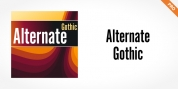 Alternate Gothic Pro font download